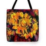 Natalie Holland Sunflowers Tote Bag