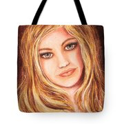 Natalie Self Portrait Tote Bag