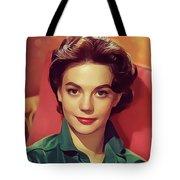 Natalie Wood, Vintage Actress Tote Bag