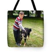 Nathan Loves Bailey Tote Bag