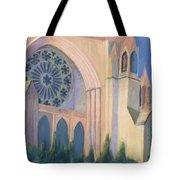 National Cathedral Tote Bag by Don Perino