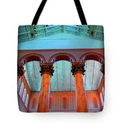 National Column Orange Tote Bag