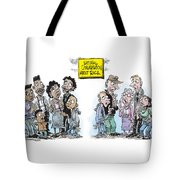 National Conversation About Race Tote Bag
