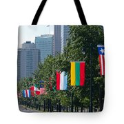 National Flags Of Various Countries Tote Bag