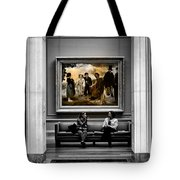 National Gallery Of Art Interiour 3 Tote Bag