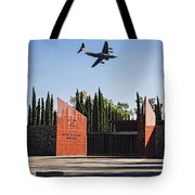 National Medal Of Honor Memorial Fly Over Tote Bag