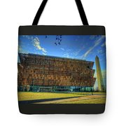 National Museum Of African American History And Culture Tote Bag
