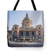 National Palace Barcelona Tote Bag