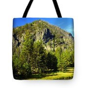 National Park Mountain Tote Bag