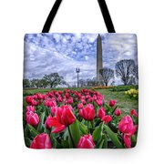National Park Service Floral Library Tote Bag