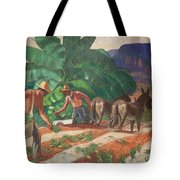 National Park Service - Tropical Country Tote Bag