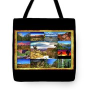 National Parks Of The West Tote Bag