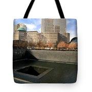 National September 11 Memorial New York City Tote Bag