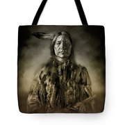 Native American Chief-scabby Bull 2 Tote Bag