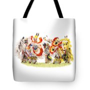 Native Color In Motion Tote Bag