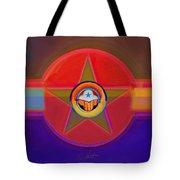 Native American Decal Tote Bag