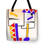 Native American Design Tote Bag