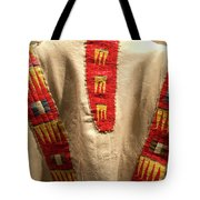 Native American Great Plains Indian Clothing Artwork 09 Tote Bag