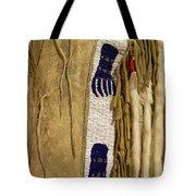 Native American Great Plains Indian Clothing Artwork Vertical 06 Tote Bag