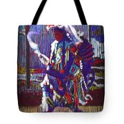 Native American - Male Fancy Dancer #4 Tote Bag