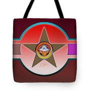 Native American Red Tote Bag