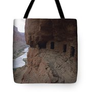 Native American Ruins Of Nankoweap Tote Bag