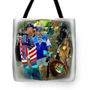 Native Intelligence Tote Bag