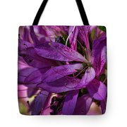 Native Long Petals Tote Bag