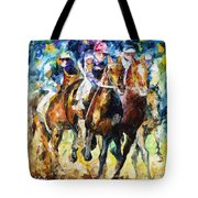Native Raiser - Palette Knife Oil Painting On Canvas By Leonid Afremov Tote Bag