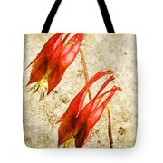 Native Virginia Columbine Tote Bag