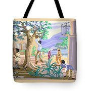 Natives Of St. Thomas Tote Bag