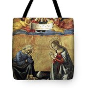 Nativity By Domenico Ghirlandaio Tote Bag