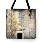 Nativity Church Tote Bag