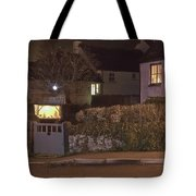 Nativity In A Mylor Bridge Garden Tote Bag