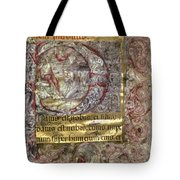 Nativity In An Initial P Tote Bag