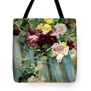Natura Morta Con Rose Giovanni Boldini Tote Bag