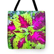Natural Abstraction Tote Bag