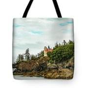 Natural Arch At Lighthouse Point Tote Bag