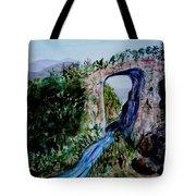 Natural Bridge In Virginia Tote Bag