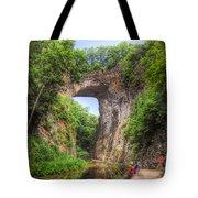 Natural Bridge - Virginia Landmark Tote Bag