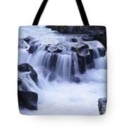 Natural Bridges Falls 01 Tote Bag