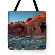 Natural Caves Tote Bag
