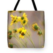 Natural Flowers Tote Bag