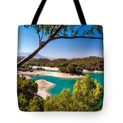 Natural Framing. El Chorro. Spain Tote Bag