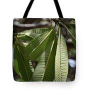 Natural Leaf Tote Bag