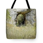 Natural Limestone Arch At Dove Valley Tote Bag