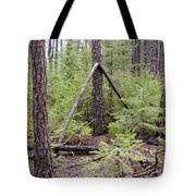 Natural Peace In The Woods Tote Bag