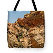 Natural Staircase Valley Of Fire Tote Bag