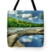 Natural Swimming Pool Tote Bag