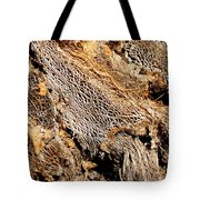 Natural Textural Abstract Tote Bag